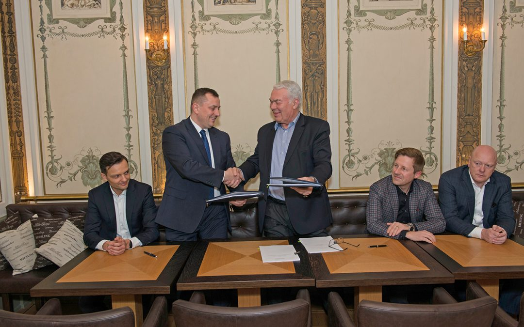 New cooperation agreement with Black Red White S.A.