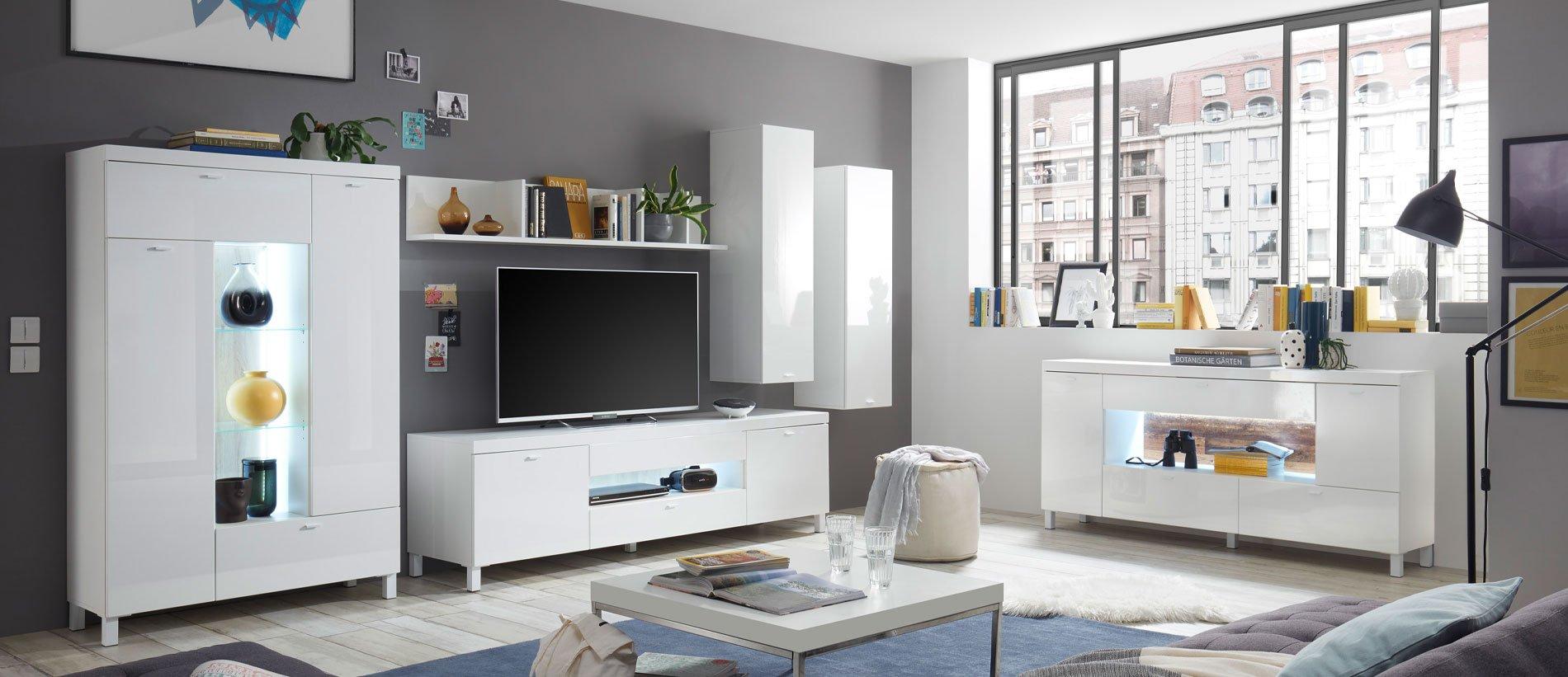 HBZ – Malta Anbauwand Weiß